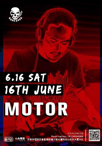 HANGOVER 6.16 DJ MOTOR 派��